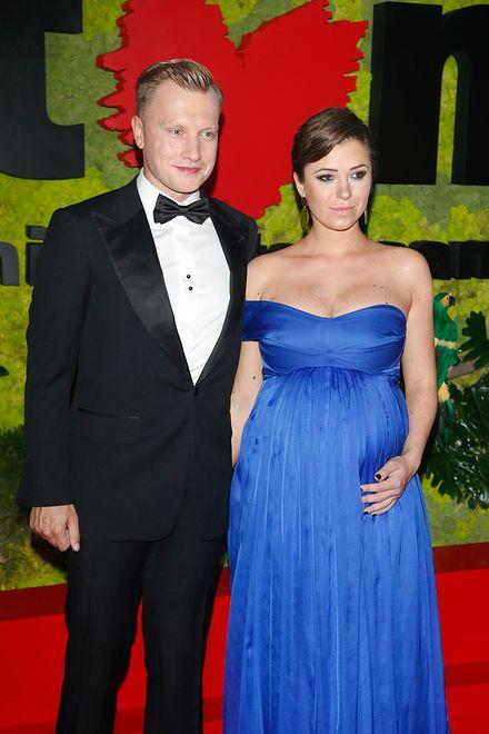 Dziennikarka i aktor wkrótce zostaną po raz pierwszy rodzicami