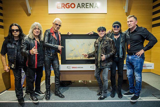 Zespół Scorpions i Dariusz Michalczewski