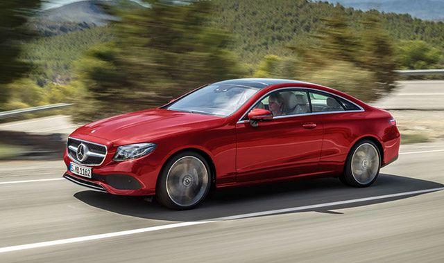 Mercedes Klasy E Coupe: klasyczne gran turismo