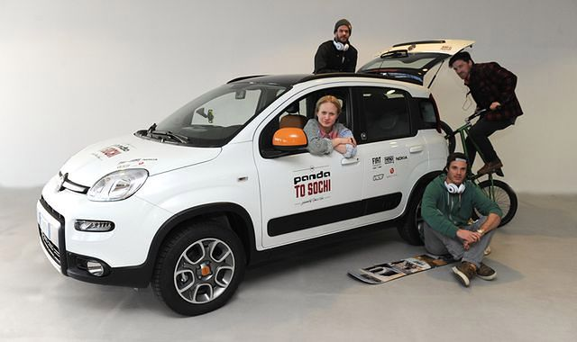 Fiat Panda 4x4 Antartica rusza z Turynu do Soczi