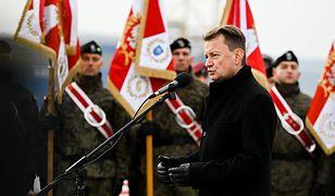 Mariusz Błaszczak: Żołnierze będą pobierać wymazy na obecność koronawirusa