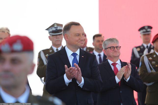 Andrzej Duda przejął symbolicznie zwierzchnictwo nad siłami zbrojnymi