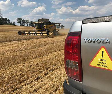 Mandat za żniwa. Rolnicy apelują, aby nie nasyłać na nich policji