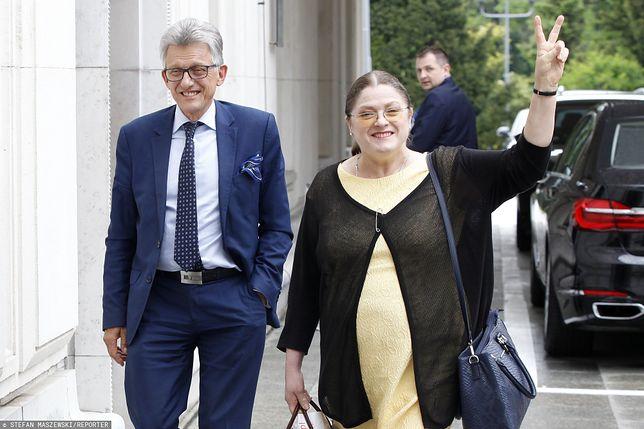 Stanisław Piotrowicz oraz Krystyna Pawłowicz - zdj. arch.