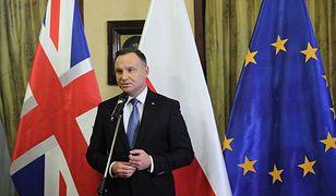 Zamach w Londynie. Prezydent Andrzej Duda chce spotkać się z bohaterskim Polakiem