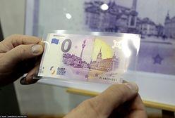 Banknot 0 euro popularny w sieci. Cena? Nawet 1000 złotych