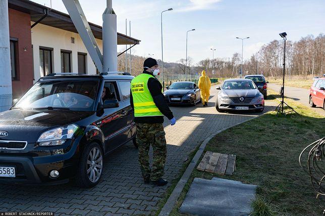 Niemcy uruchamiają kolejne mobilne stacje testowania na granicy