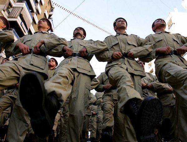 Członkowie Hezbollahu