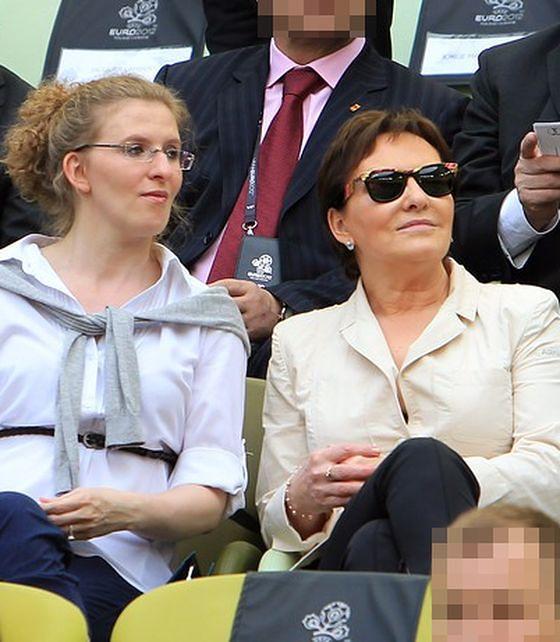 Katarzyna i Ewa Kopacz