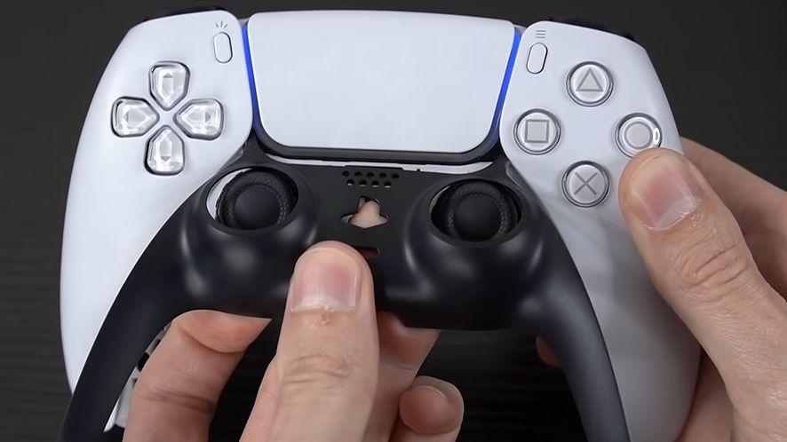 Zdejmowany panel kontrolera do PS5