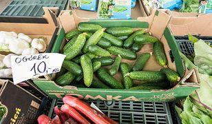 Ceny ogórków idą w górę. Ministerstwo rolnictwa podaje dane