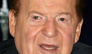 Sheldon Adelson jest najszybciej bogacącym się człowiekiem świata