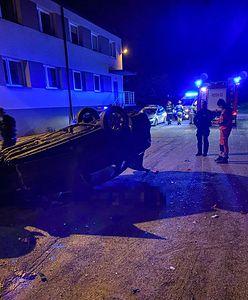 Tragiczna noc na drogach powiatu będzińskiego. Nie żyją dwie osoby