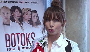 """Agnieszka Dygant o kontrowersjach w serialu """"Botoks"""": """"Od tego jest Patryk Vega"""""""