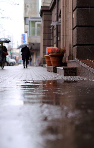 Pojawi się deszcz i deszcz ze śniegiem