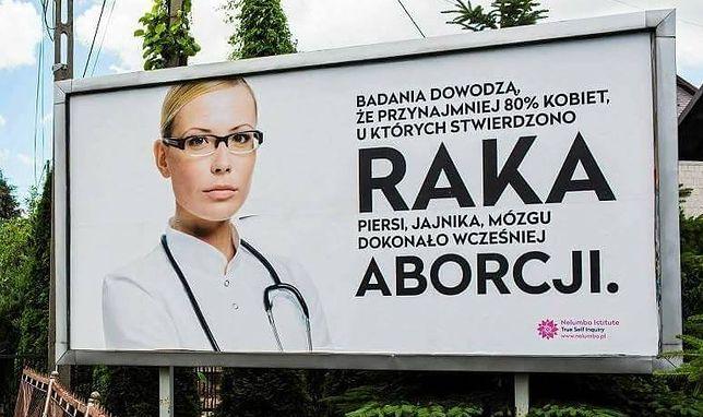 Kontrowersyjny billboard dot. aborcji uaktywnił internautów. Stworzyli przeróbki
