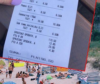 Kolejny czytelnik pokazał rachunek znad morza.