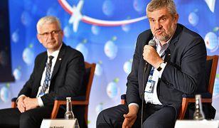 Minister Ardanowski nie szczędził w Karpaczu gorzkich słów w stosunku do sieci handlowych.