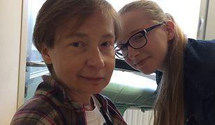 Beata Szczepanik z córką Krysią. Kobieta jest po udarze i przeszczepie serca. Grozi jej eksmisja