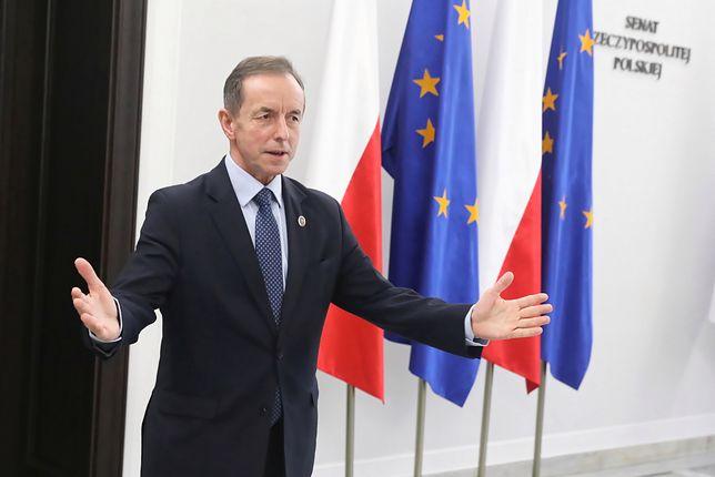Marszałek Senatu Tomasz Grodzki wygłosi w czwartek orędzie w TVP
