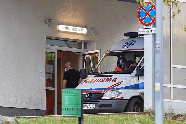 Operator TVP trafił do szpitala