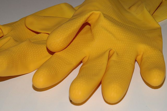 Maska i rękawice
