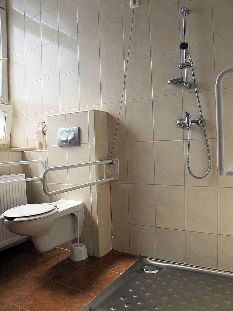 Łazienka dla osób niepełnosprawnych