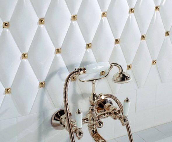 Łazienka jak z pałacu - podłogi i ściany