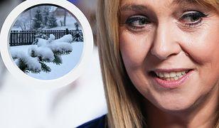 Zima zaskoczyła Ewę Wachowicz