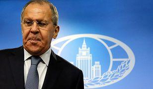 """Ławrow ocenił, że Rosja """"została wpisana do kategorii wrogów"""""""