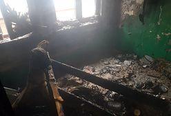 Warszawa. Pożar w Rembertowie. W mieszkaniu zwęglone ciało mężczyzny