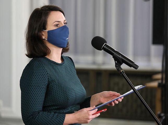 Kamila Gasiuk-Pihowicz zaatakowała rząd za projekt ustawy, który skomentowała w dosadnych słowach