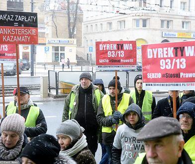Frankowicze zamierzają poskarżyć się w Unii na działania banków po wyroku TSUE