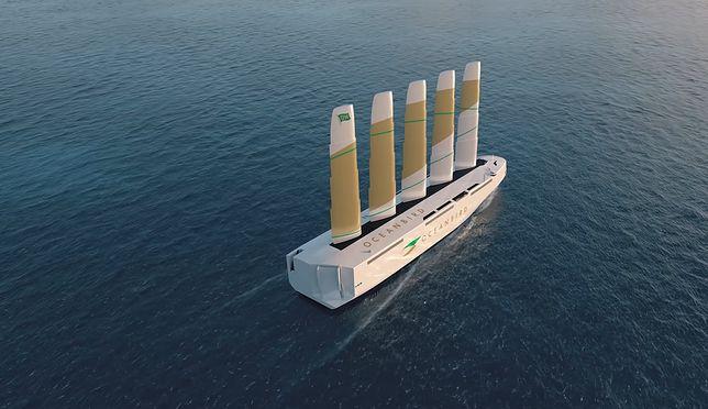 Największy żaglowiec na świecie. Szwedzi pokazali projekt
