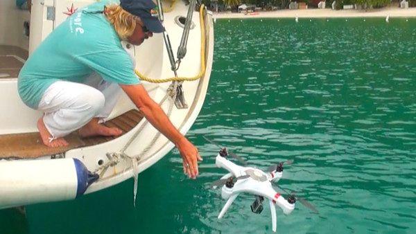 Mariner - dron pływający pod wodą