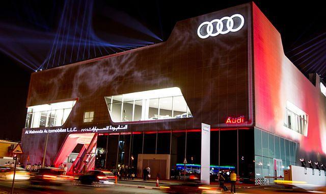Największy na świecie salon Audi otwarty w Dubaju
