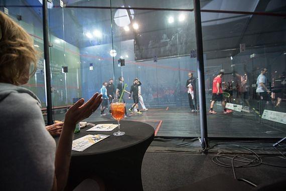 Drużynowe Mistrzostwa Polski w squashu. Zagrają na przeszklonym korcie!