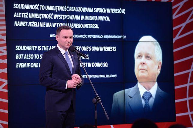 Prezydent: ideały i dążenia Lecha Kaczyńskiego nie straciły na aktualności