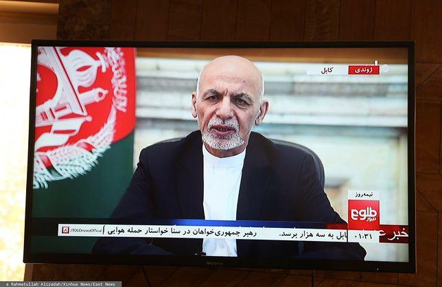 Prezydent Afganistanu Mohammad Ashraf Ghani