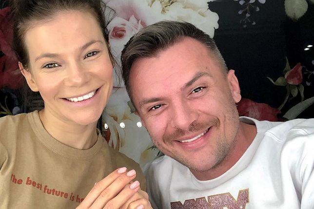 Maja Bohosiewicz i jej mąż Tomasz