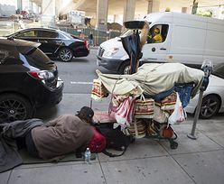 Skutki koronawirusa. Zatrważający wzrost liczby bezdomnych na ulicach USA
