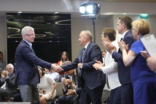 Prawybory w PO. Jacek Jaśkowiak i Grzegorz Schetyna.