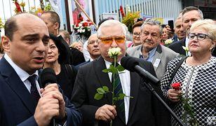 Lech Wałęsa podczas rocznicy Porozumień Sierpniowych