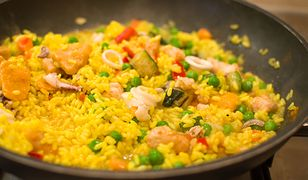 Paella z kurczakiem