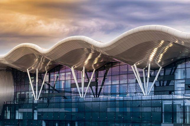 Budynek lotniska w Zagrzebiu