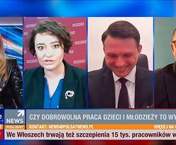 Polsat News. Goście mieli ubaw po pachy. Posłanka Lewicy szła w zaparte