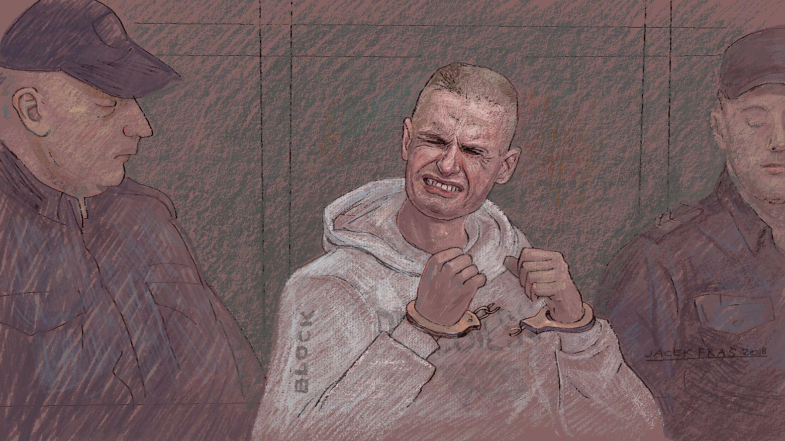 Strażnik z więzienia Komendy: Nie wiem, jak to wytrzymał. Ja bym nie dał rady