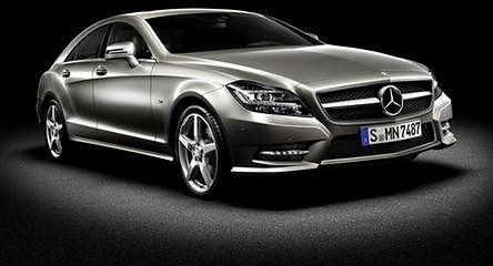 Mercedes CLS: Barczyste coupe