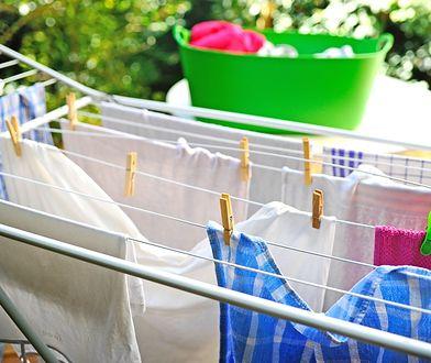Suszarki na pranie. Inne do domu, inne do ogrodu