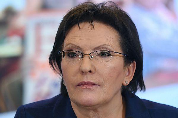 Premier rządu Ewa Kopacz